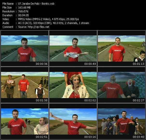video Bonito screen