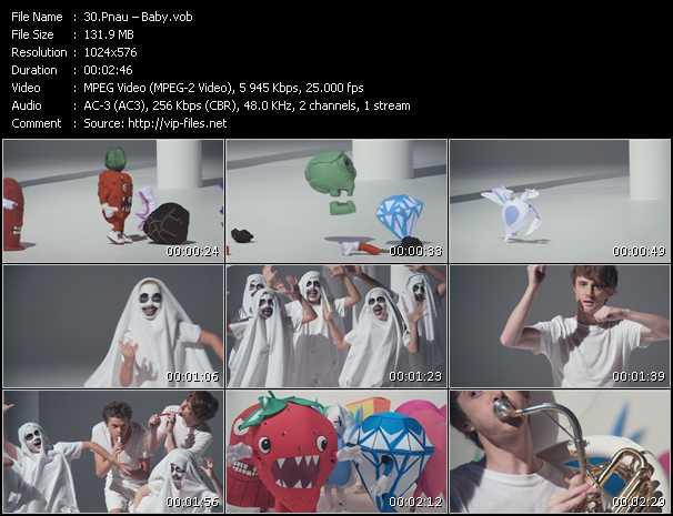 download Pnau « Baby » video vob