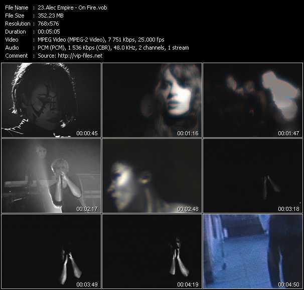 video On Fire screen