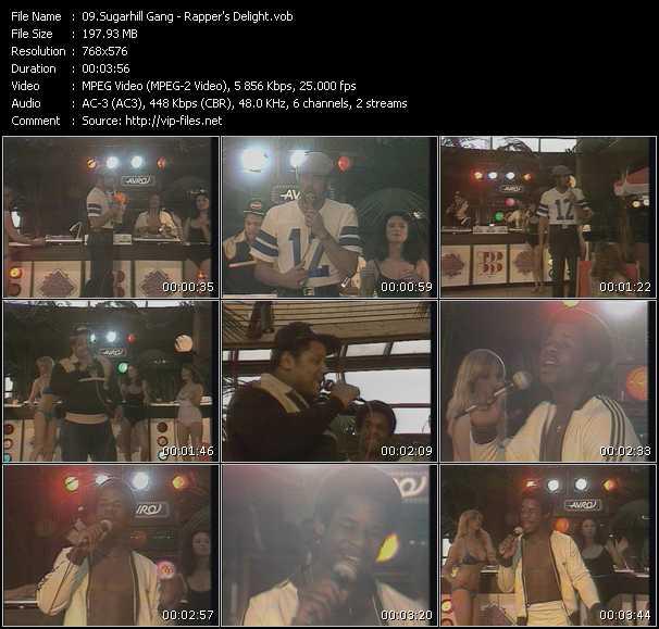 download Sugarhill Gang « Rapper's Delight » video vob
