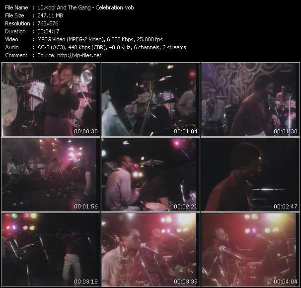 download Kool And The Gang « Celebration » video vob