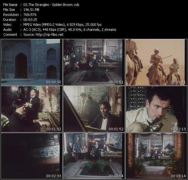 video Golden Brown screen