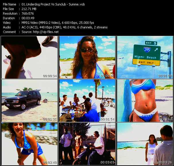 download Underdog Project Vs. Sunclub « Summer Jam 2003 » video vob
