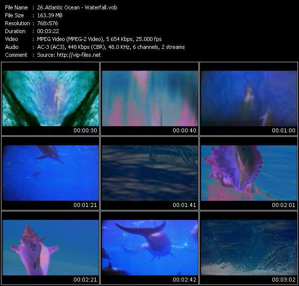 download Atlantic Ocean « Waterfall » video vob