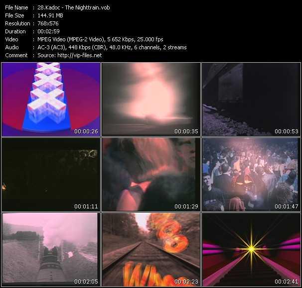 download Kadoc « The Nighttrain » video vob