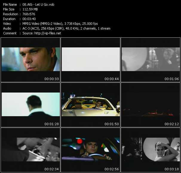 download Atb « Let U Go » video vob