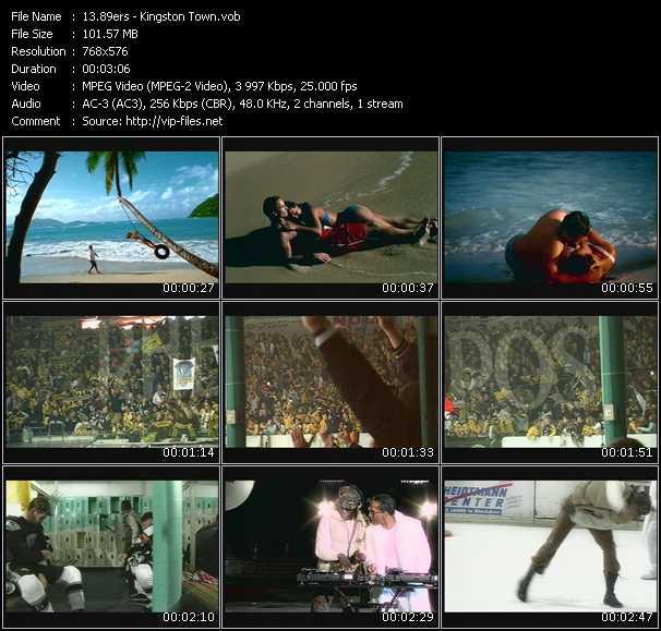 video Kingston Town screen