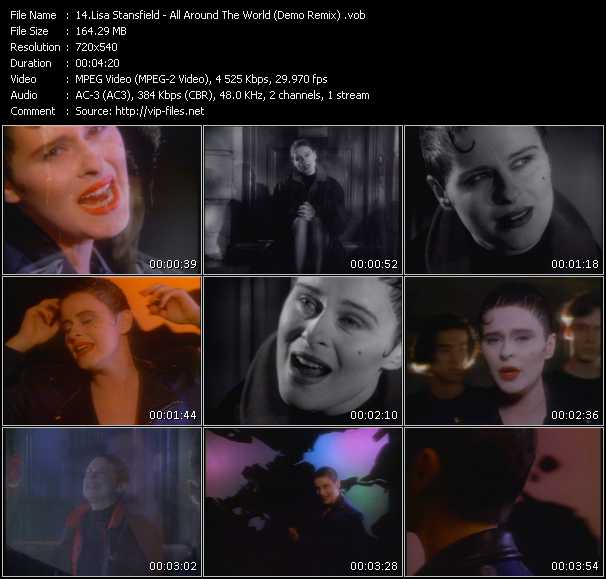download Lisa Stansfield « All Around The World (Demo Remix) » video vob