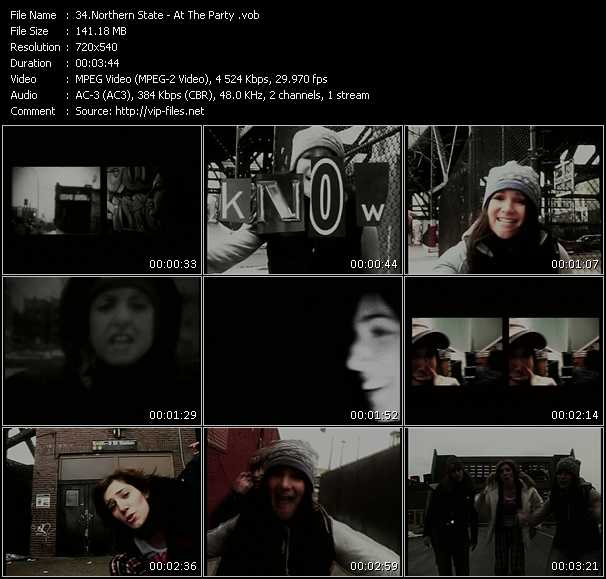 download Northern State « At The Party » video vob