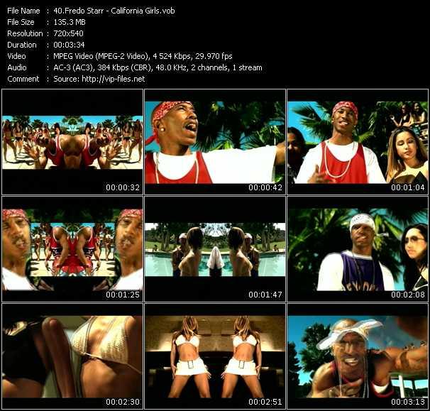 download Fredro Starr « California Girls » video vob