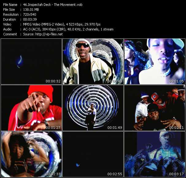 download Inspectah Deck « The Movement » video vob
