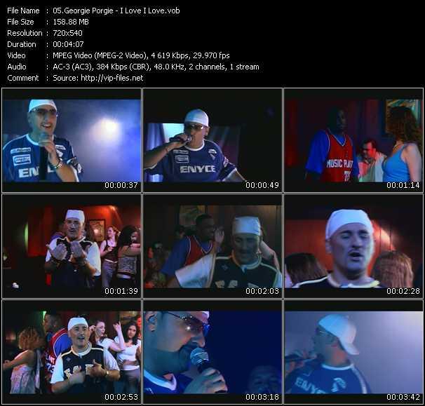 video I Love I Love screen