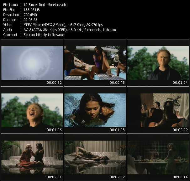 video Sunrise screen