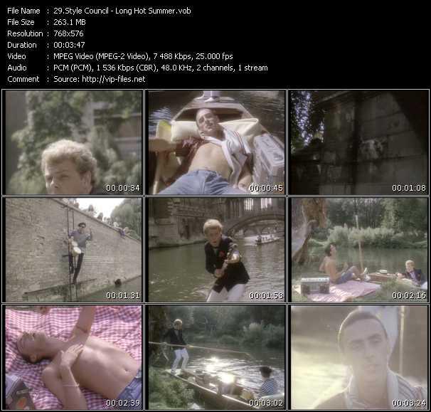 MixMash 80s Classics Vol 14 VOBs - Style Council videoclip