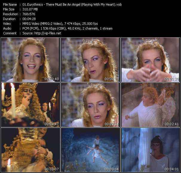 video There Must Be An Angel (Playing With My Heart) screen