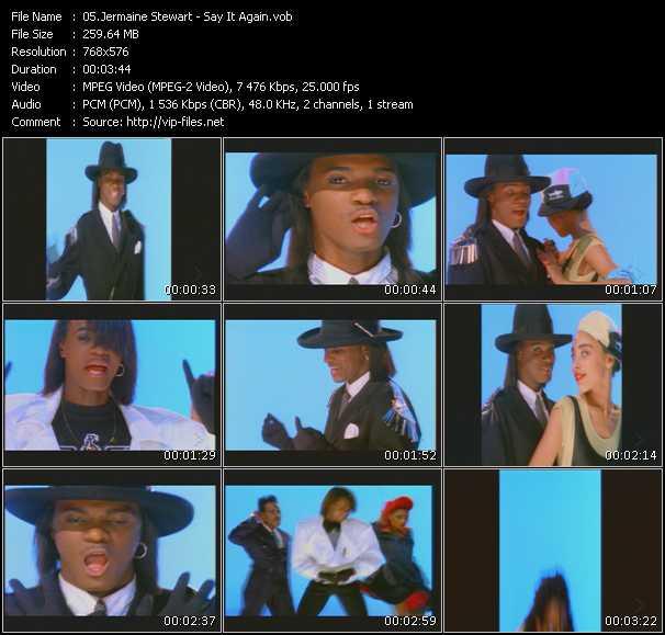 video Say It Again screen