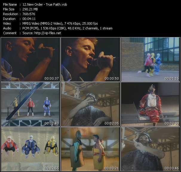 video True Faith screen