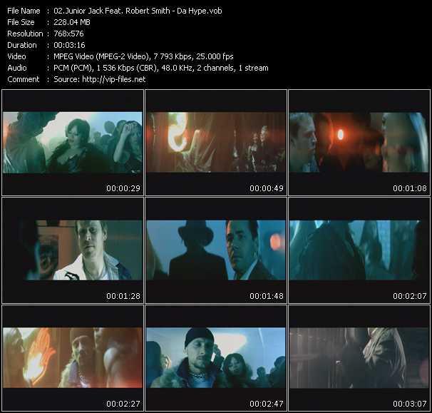 video Da Hype screen