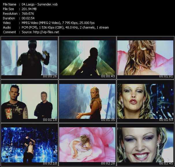 download Lasgo « Surrender » video vob