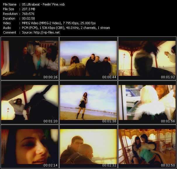 download Ultrabeat « Feelin' Fine » video vob