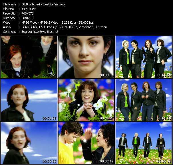 video C'est La Vie screen