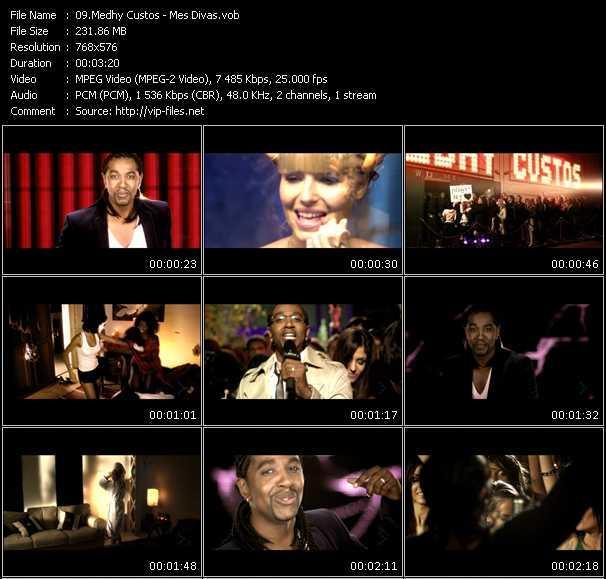 video Mes Divas screen