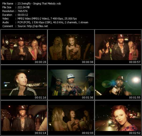 download Swingfly « Singing That Melody » video vob