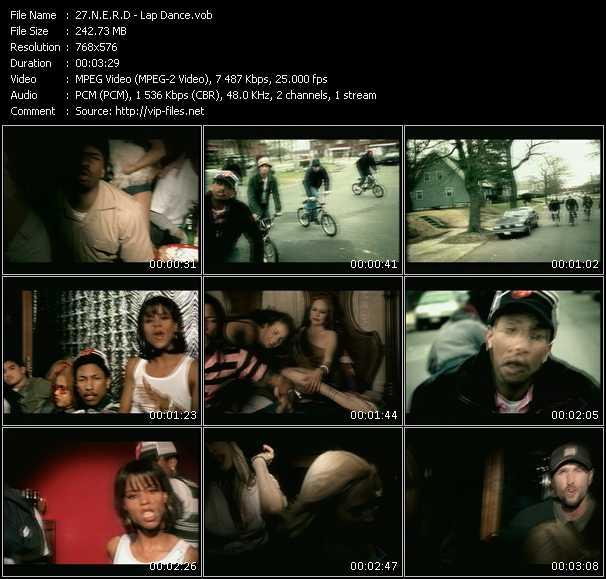 video Lap Dance screen