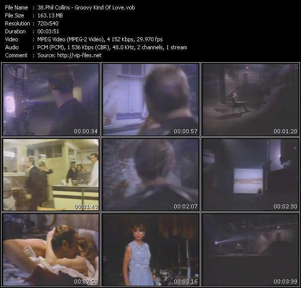 download Phil Collins « Groovy Kind Of Love » video vob