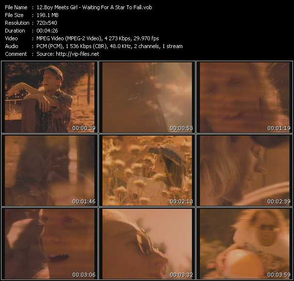 download Boy Meets Girl « Waiting For A Star To Fall » video vob