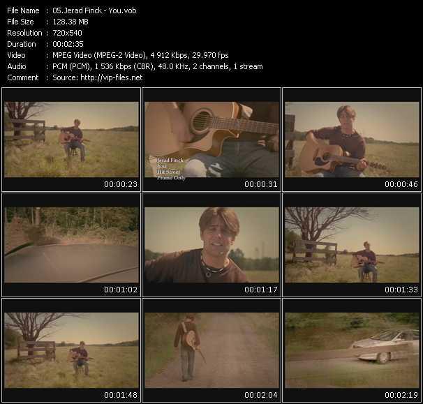 download Jerad Finck « You » video vob