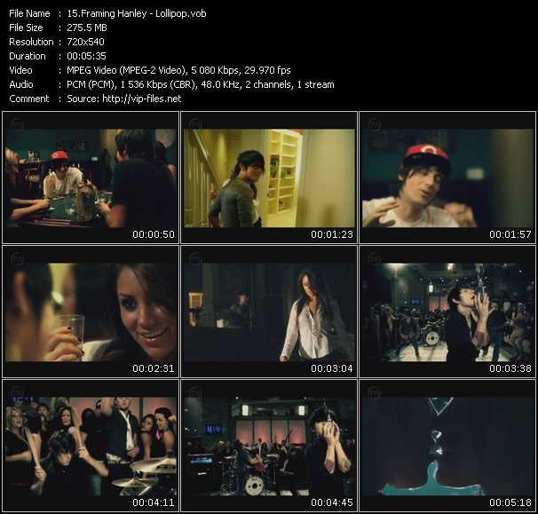 video Lollipop screen