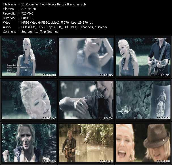 download Room For Two « Roots Before Branches » video vob