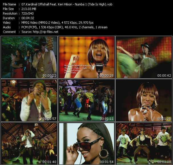 download Kardinal Offishall Feat. Keri Hilson « Numba 1 (Tide Is High) » video vob