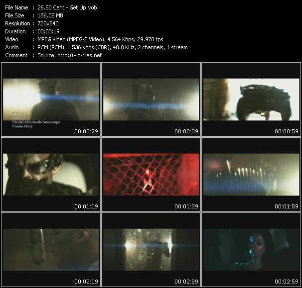 download 50 Cent « Get Up » video vob