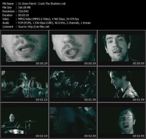 video Crack The Shutters screen