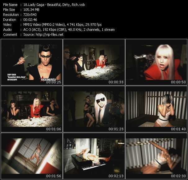 video Beautiful, Dirty, Rich screen