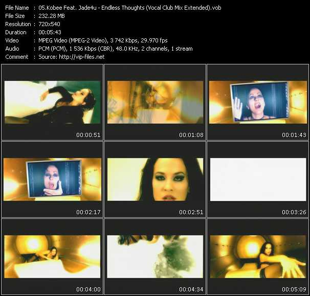 video Endless Thoughts (Vocal Club Mix Extended) screen