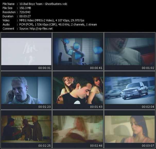 video Ghostbusters screen