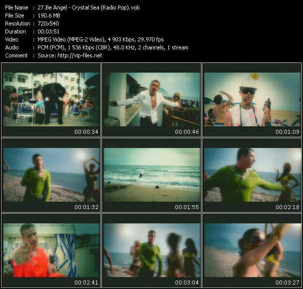download Be Angel « Crystal Sea (Radio Pop) » video vob