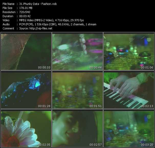 download Phunky Data « Fashion » video vob