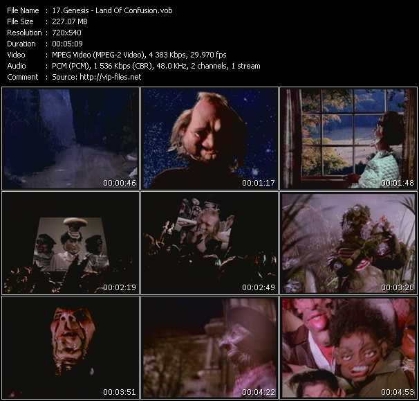 download Genesis « Land Of Confusion » video vob