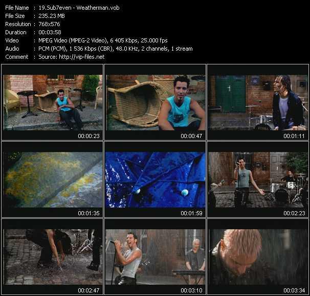 download Sub7even « Weatherman » video vob