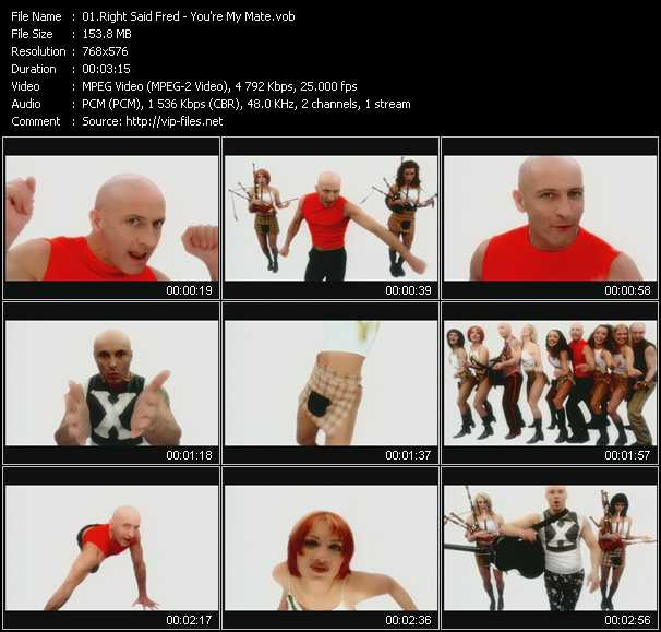 video You're My Mate screen