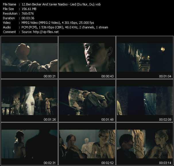 video Lied (Du Nur, Du) screen