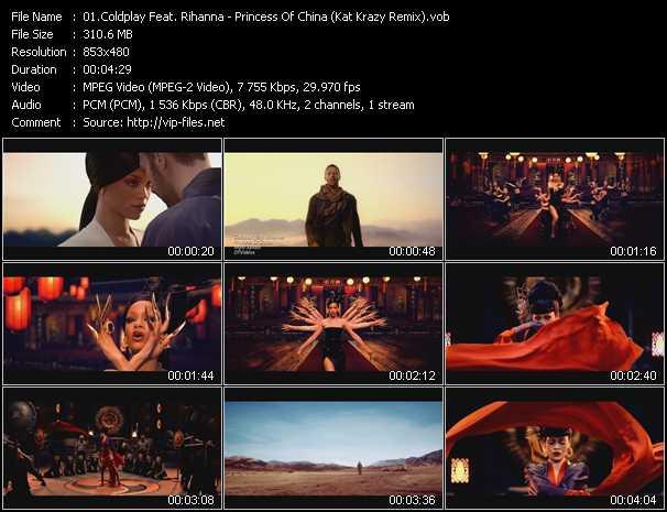 video Princess Of China (Kat Krazy Remix) screen