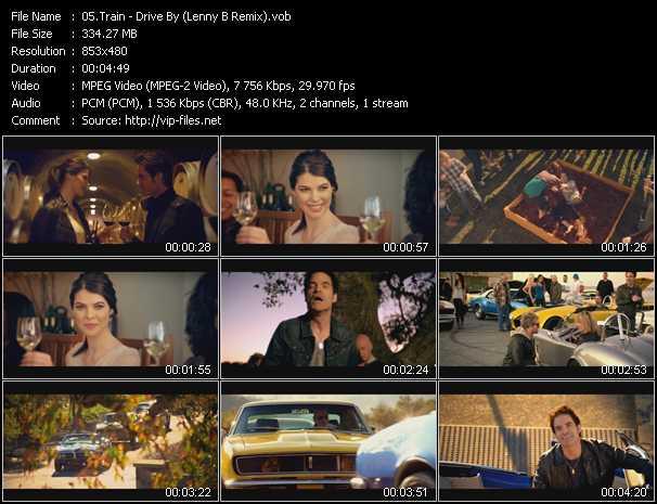 video Drive By (Lenny B Remix) screen