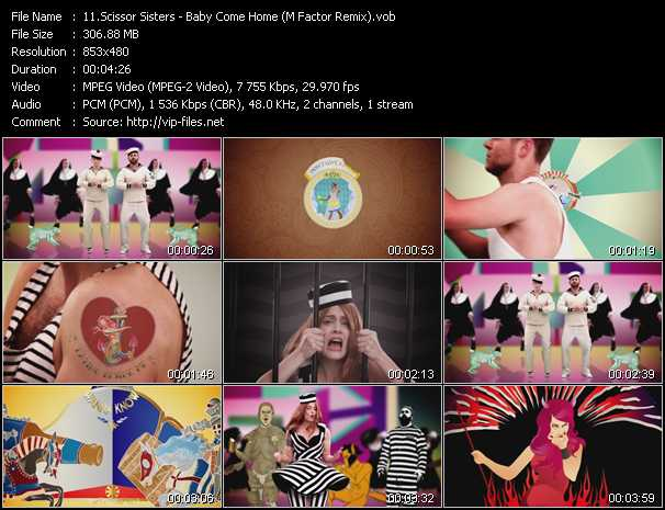 video Baby Come Home (M Factor Remix) screen