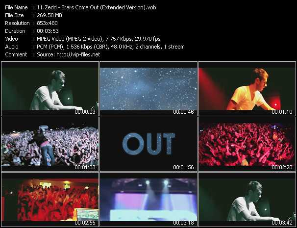 download Zedd « Stars Come Out (Extended Version) » video vob