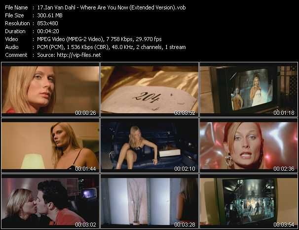 video Where Are You Now (Extended Version) screen
